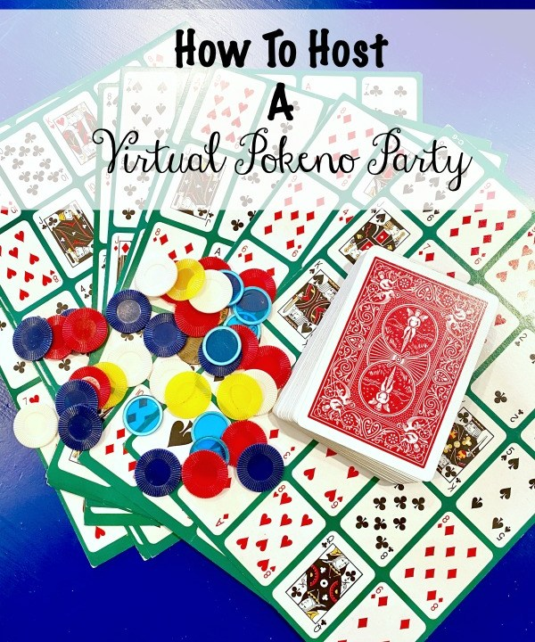 how to host a virtual pokeno party
