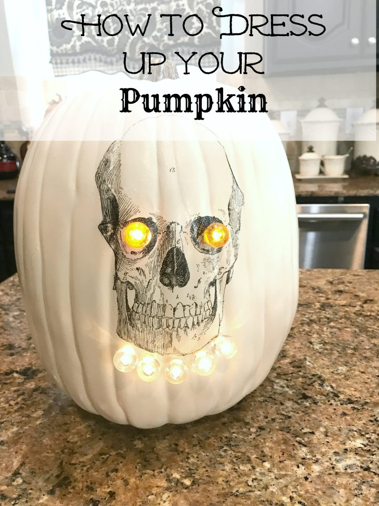 How To Dress Up Your Pumpkin