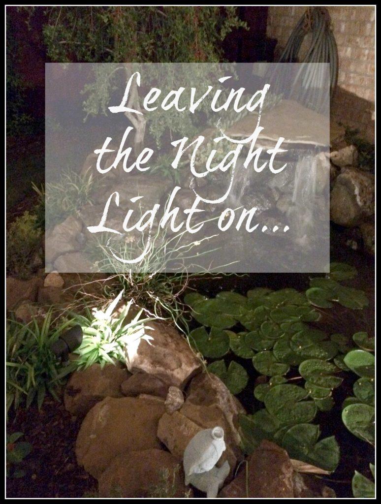 Leaving the Night Light on…