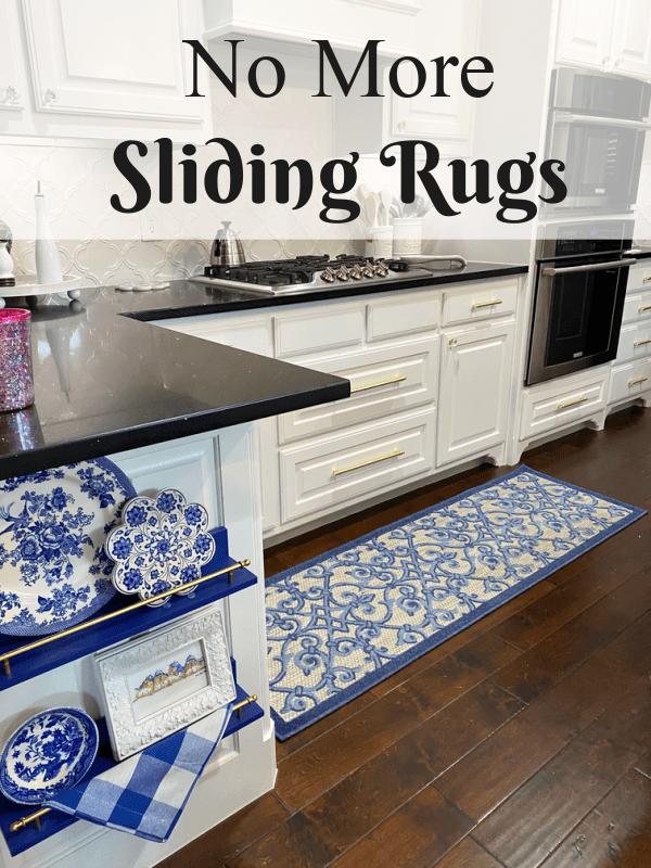 No more sliding rugs