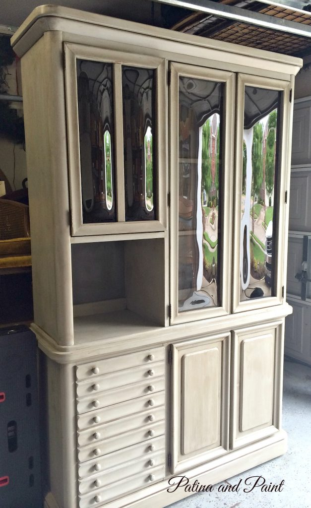 Paris Grey Hutch, Before and After
