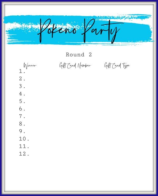 Pokeno Party Round 2