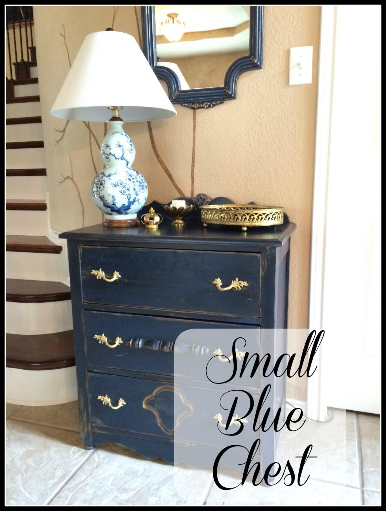 Small Blue Chest
