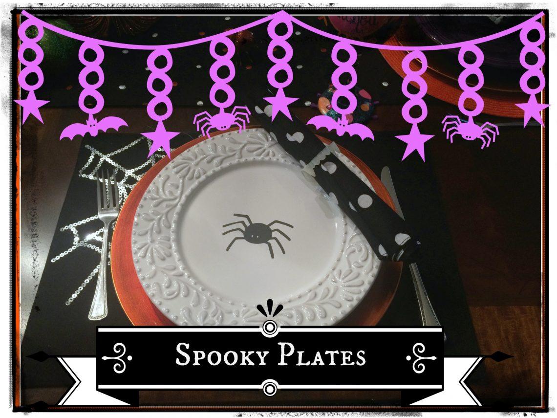 Spooky Plates