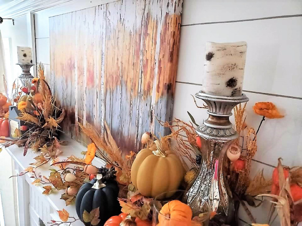 Terrie's Fall Mantle