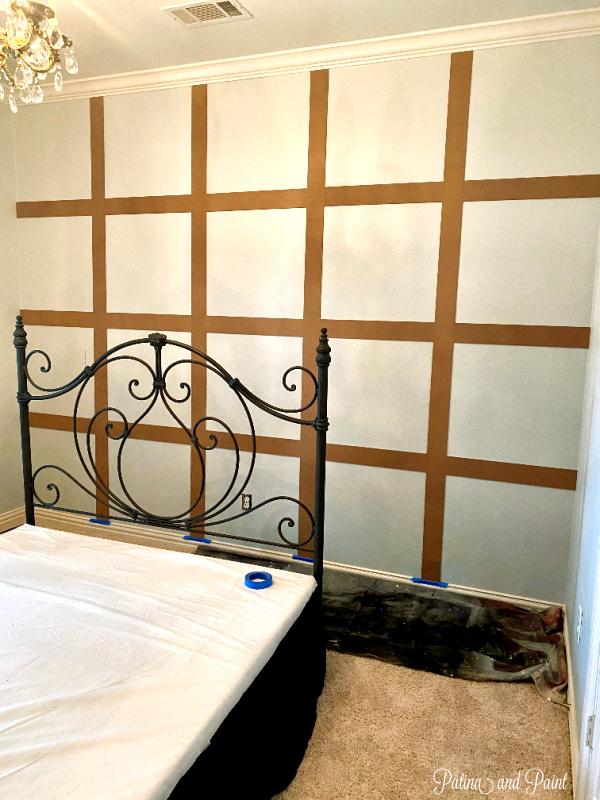 Guest Bedroom Focal Wall