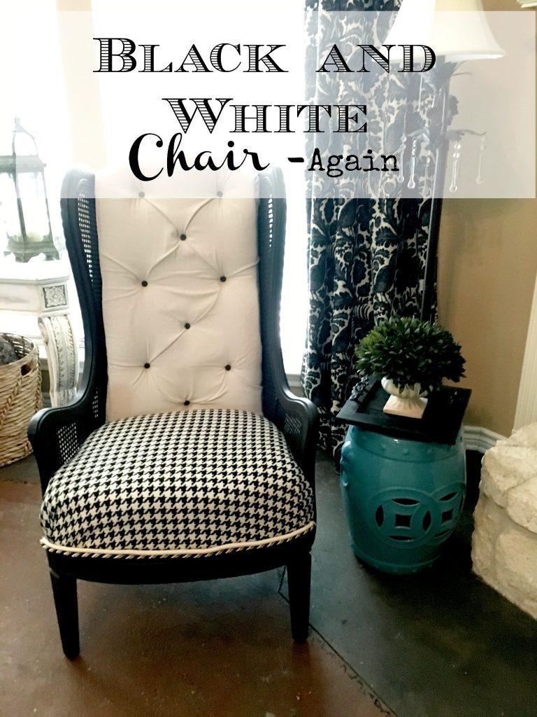 Black and White Chair – Again!