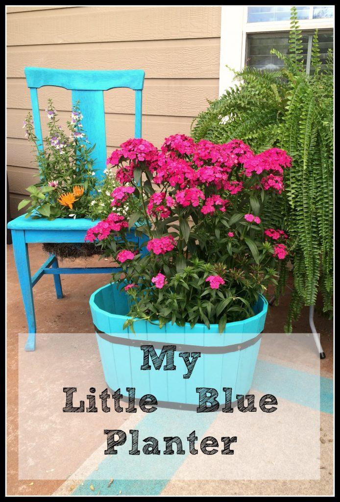 My Little Blue Planter