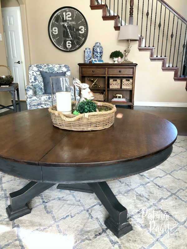 Make Your Kitchen Table into a Coffee Table