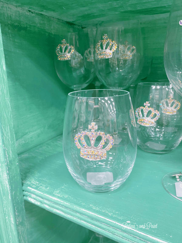 crown wine glass