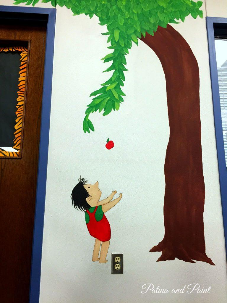 Library Mural  Sneak Peek