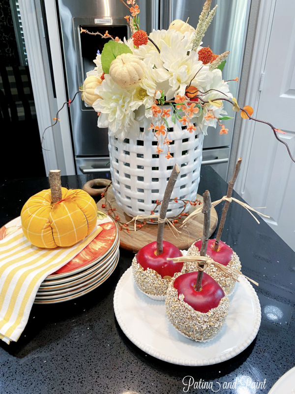 Faux Fall Apples