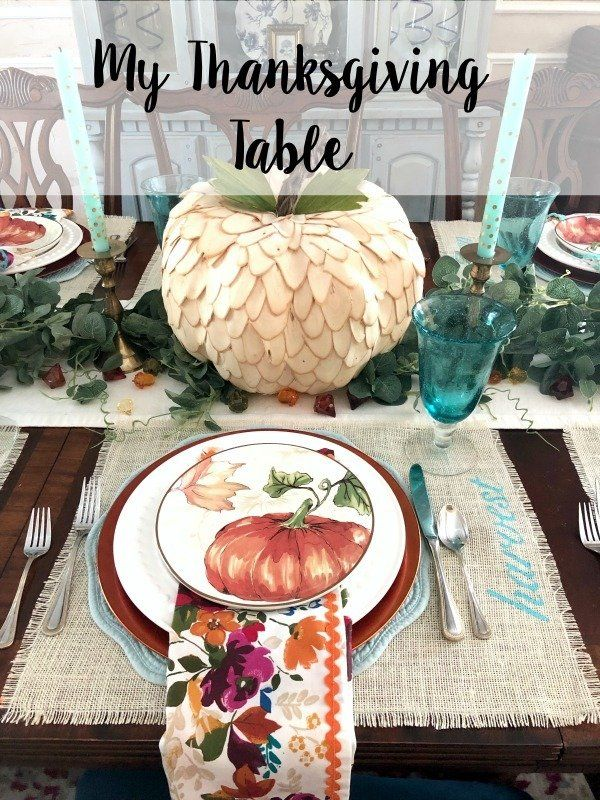 My Thanksgiving Table