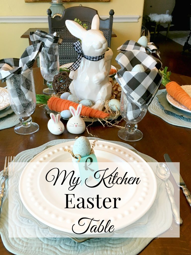 My Kitchen Easter Table