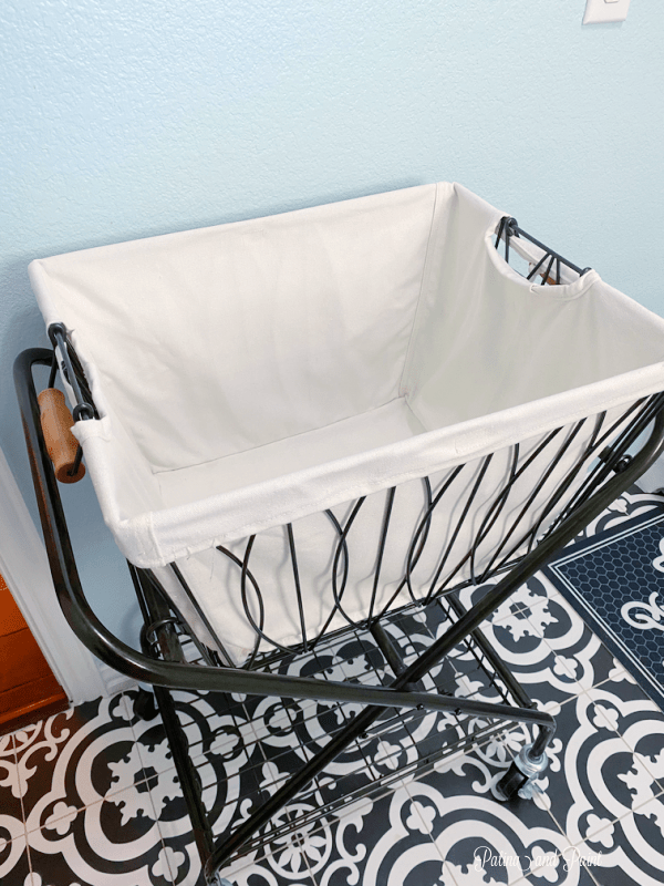laundry room basket