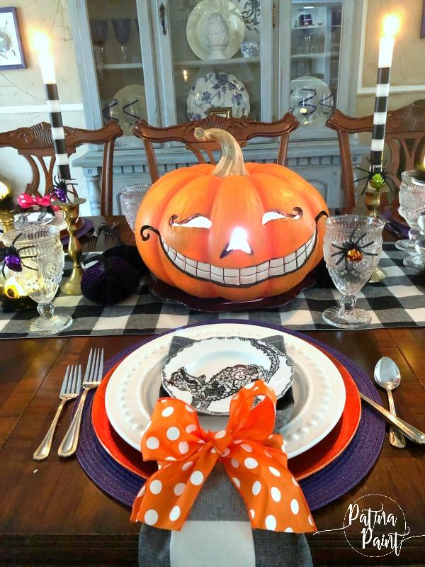 A Halloween Table