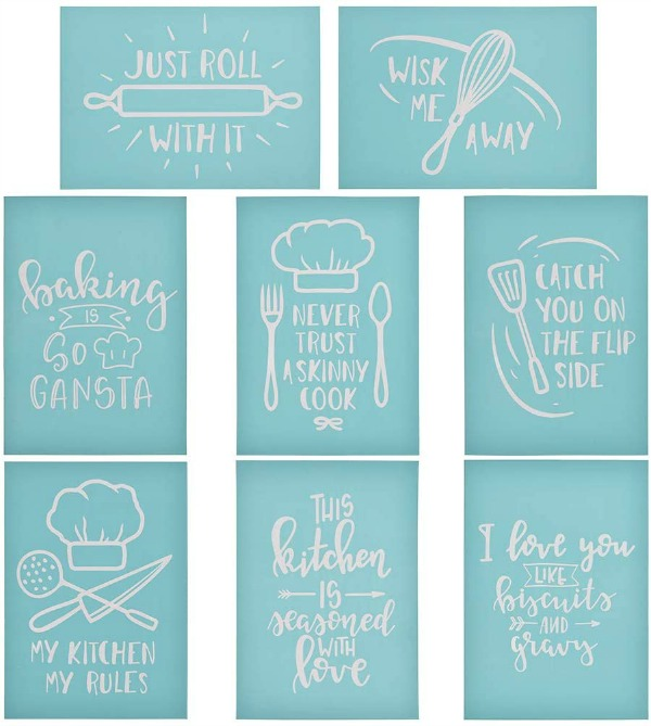 kitchen stencils
