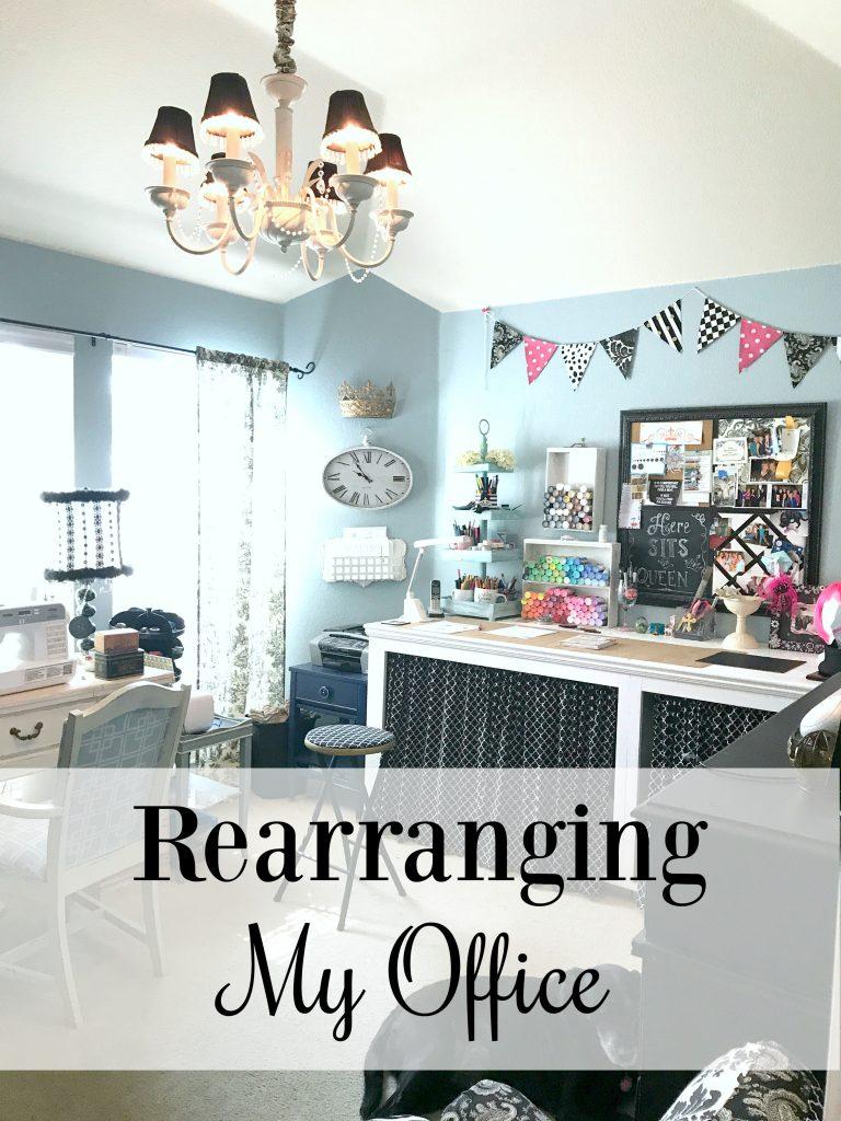 Rearranging My Office