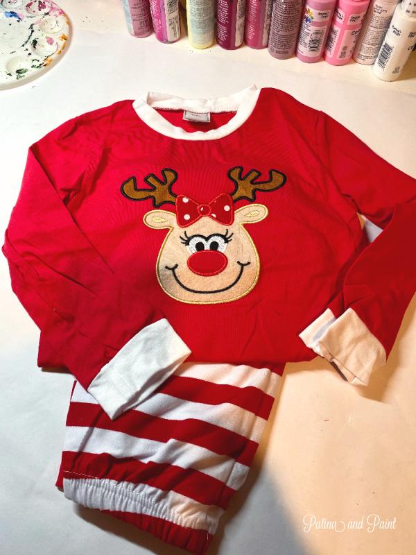 reindeer pajamas