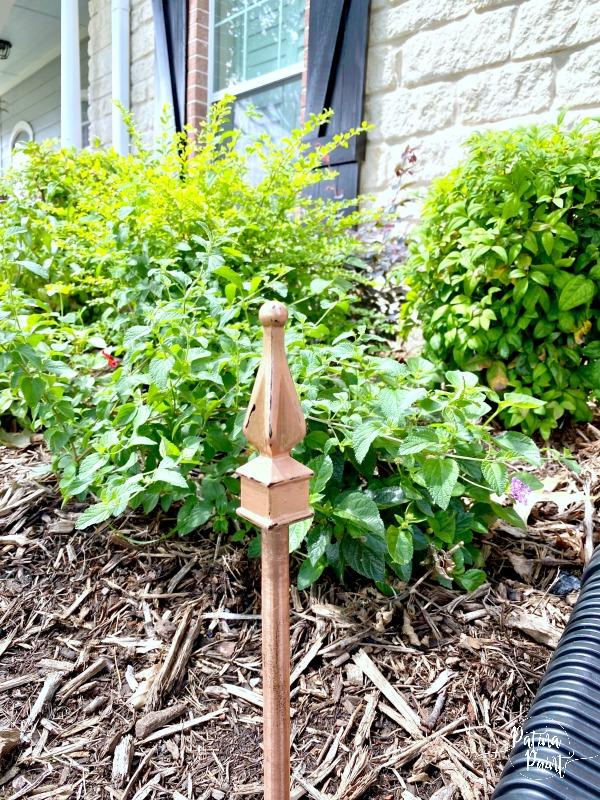 shrubs, garden hose guides