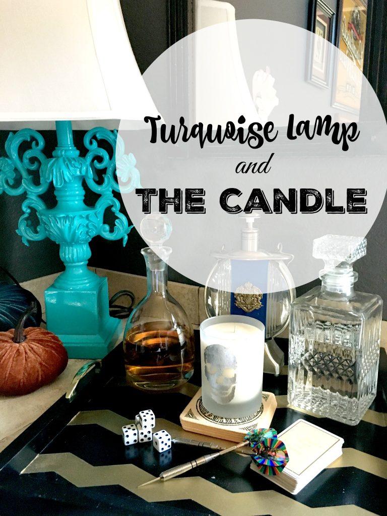 Turquoise Lamp