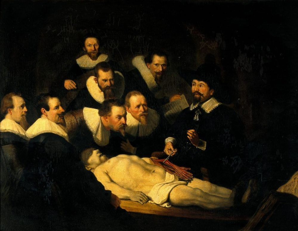 Chiaroscuro painting by Dutch Golden Age painter Rembrandt
