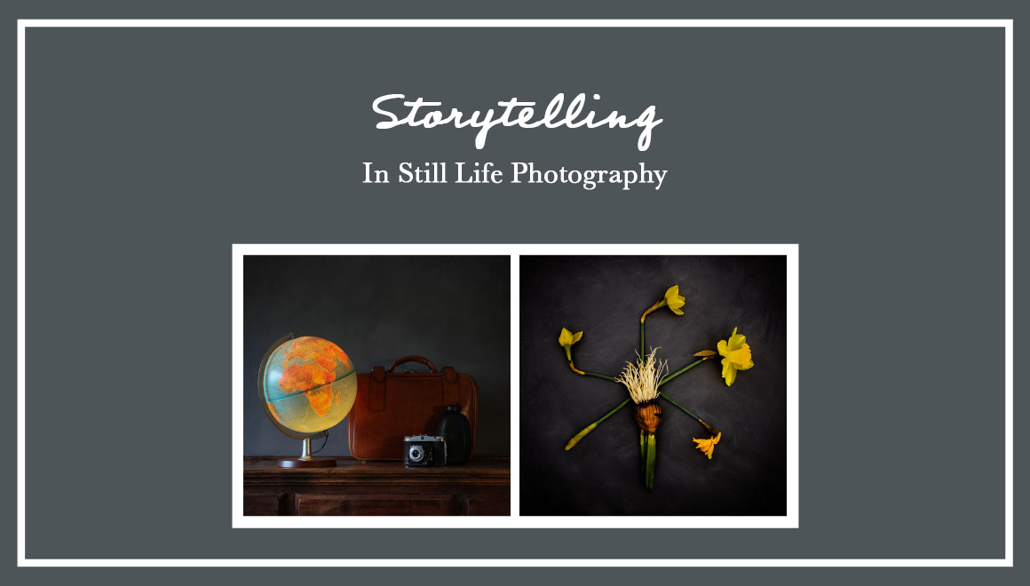 Blogpost about storytelling in still life photography