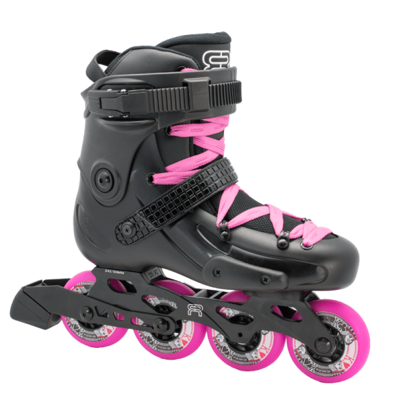 fr skates frw 80 black pink