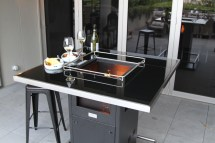 Gas Patio Heater Outdoor Bar Table Life
