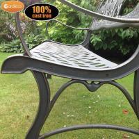 Patio Life // Gardeco Cast Iron Garden Bench Horse and ...