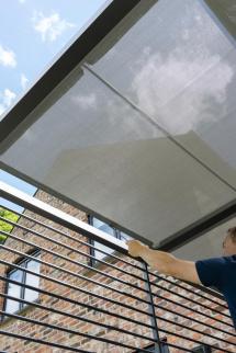 Norfolk Leisure 2.8 X 2.8m Sliding Roof Pergola Patio Life