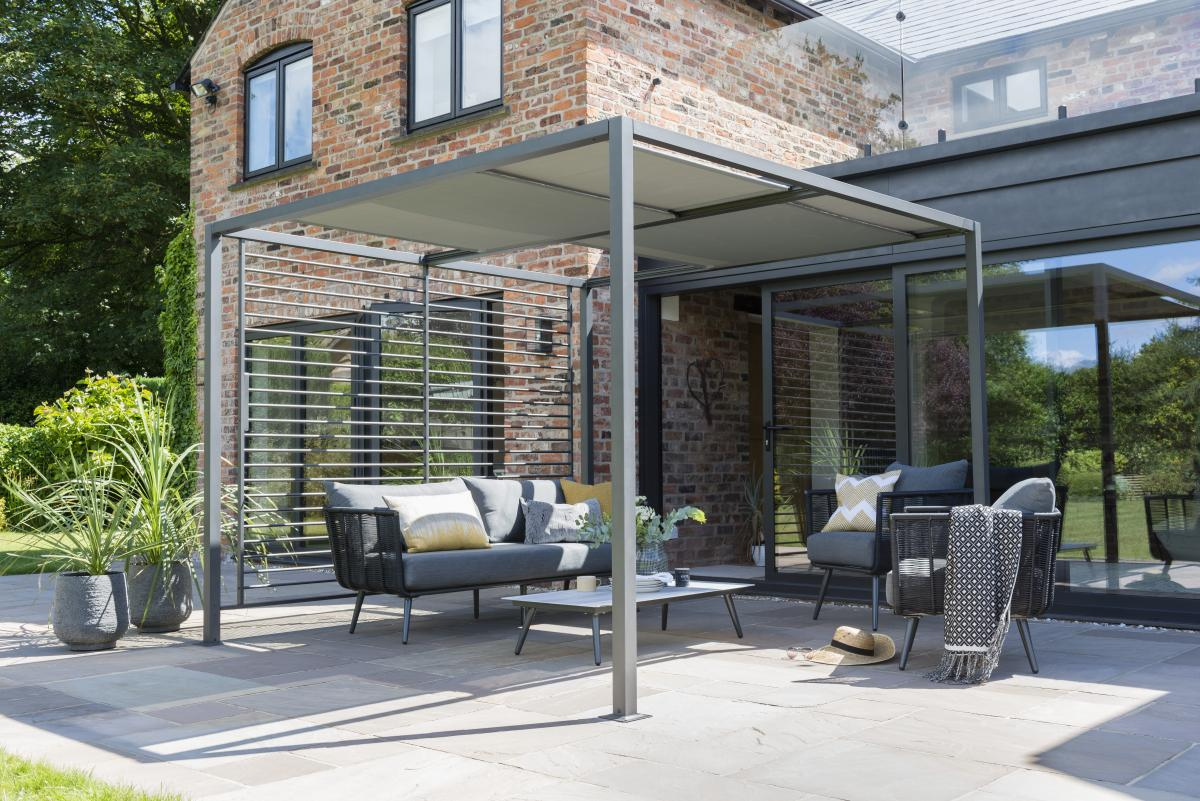 Norfolk Leisure 2 8 X 2 8m Sliding Roof Pergola Patio Life