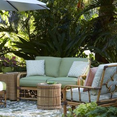 Outdoor Pouf Chair Fishing Wow Patio & Things | Celerie Kemble Inspirations Stemmed From 1930s To '70s Vintage Palm Beach And ...