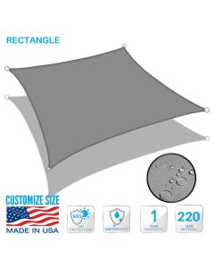 waterproof 180gsm shade sail customize