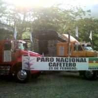 Transportistas y cacaoteros se unirán a paro de caficultores en Colombia