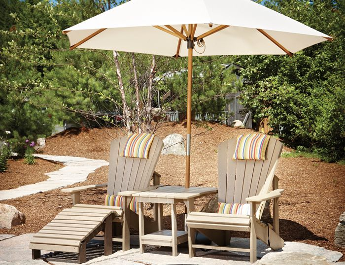 adirondack chair covers canada harith high back leather executive outdoor patio furniture in ottawa | comfort - richmond rd.
