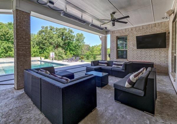 aluminum roof metal patio roof austin