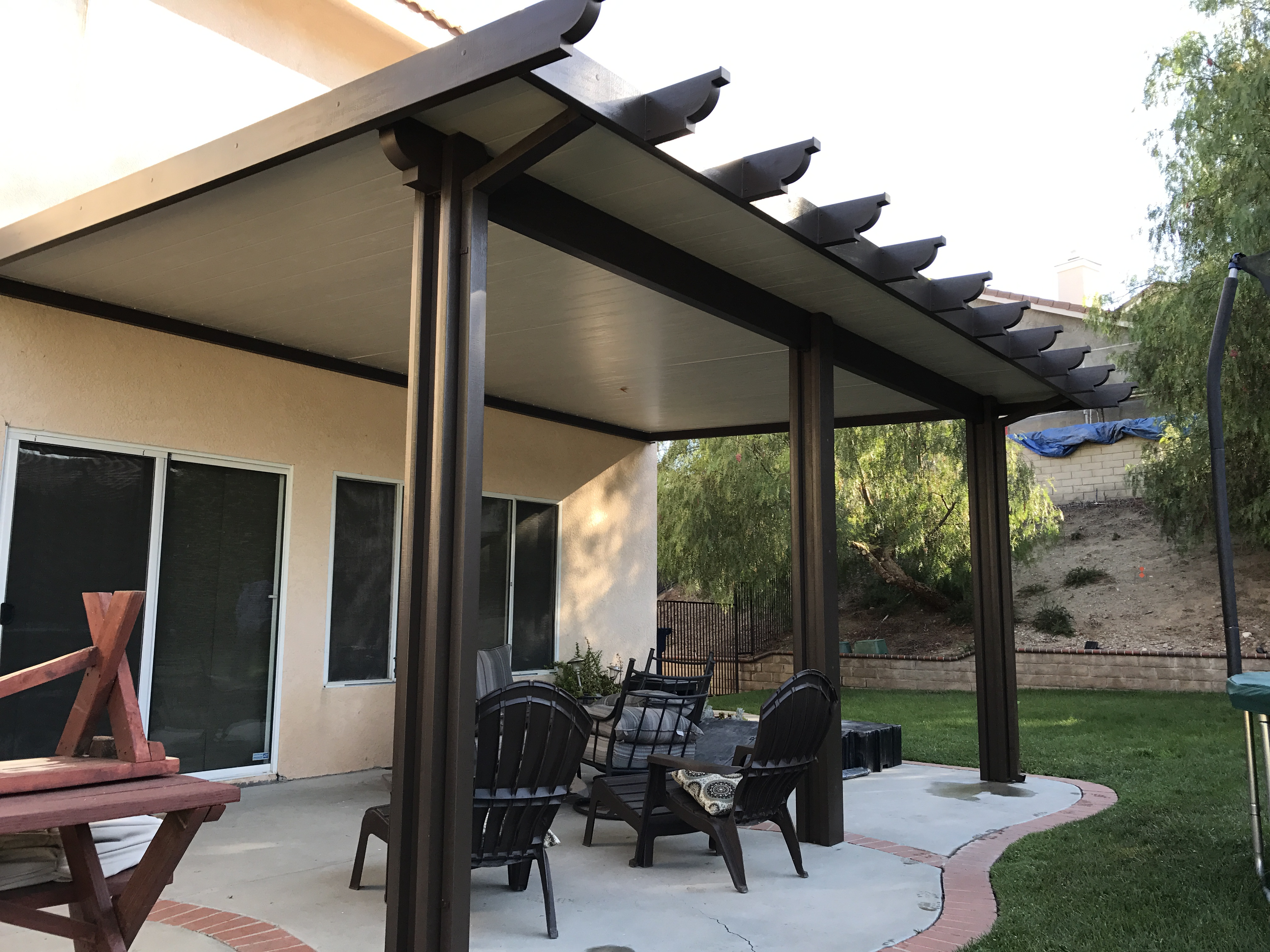 Patio Cover Insulated Roof Panels