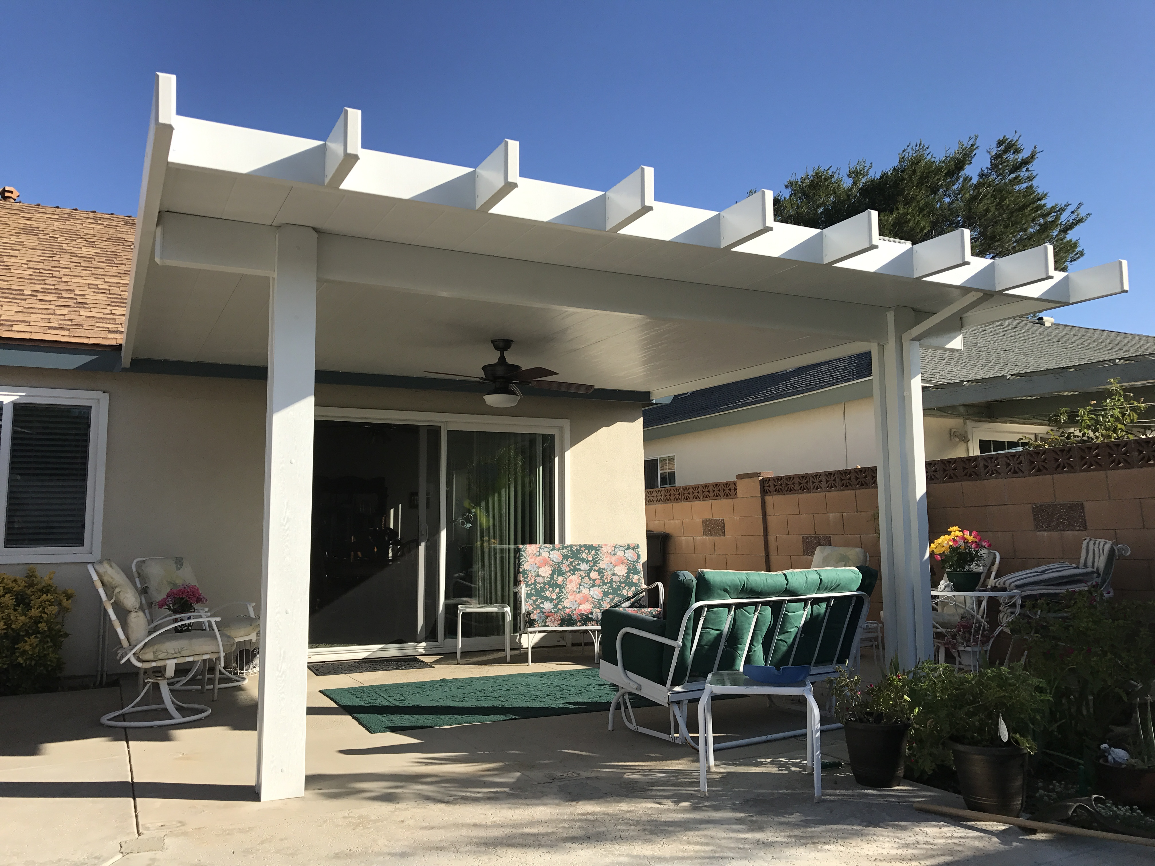 Alumawood Insulated Roofed Patio Cover Patiocovered Com