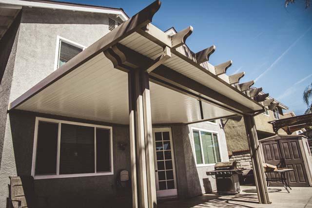 alumawood aluminum non insulated patio