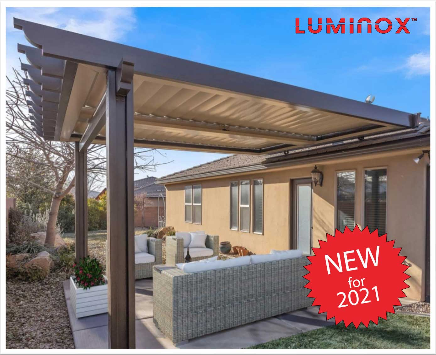 louvered roof system patiocovered