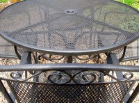 Metal Patio Set | Patio Design Ideas
