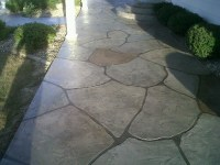 Stained Concrete Patio Patterns - Home Design Inside