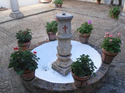 Fuente central santiaguista