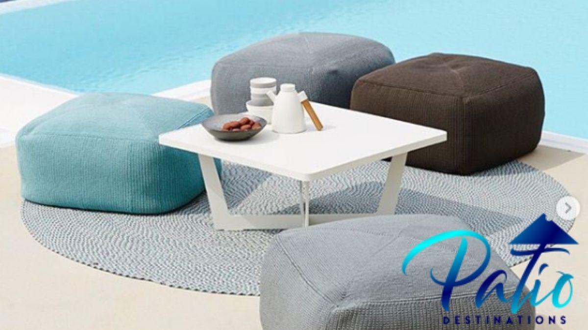 10 Best Outdoor Ottomans 2021   Durable Outdoor footstool reviews