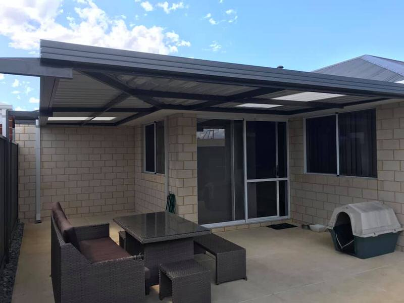 flat roof patio perth patio factory