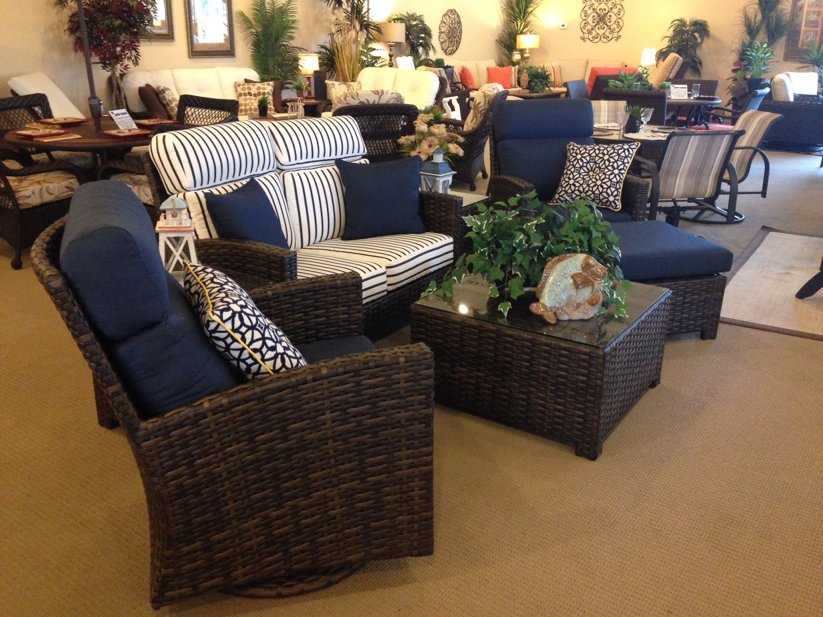Palm Casual Patio Furniture has a NEW Outdoor Wicker