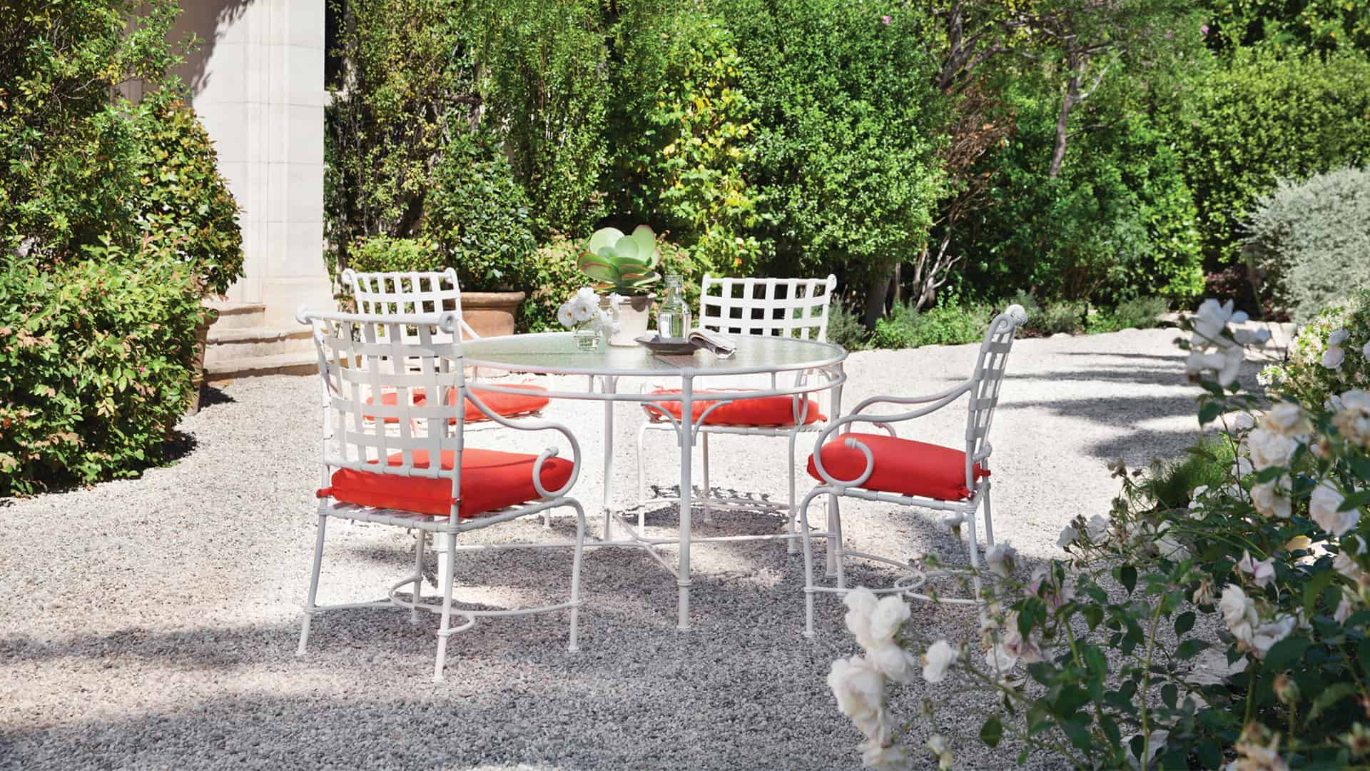 custom sized outdoor furniture acrylic