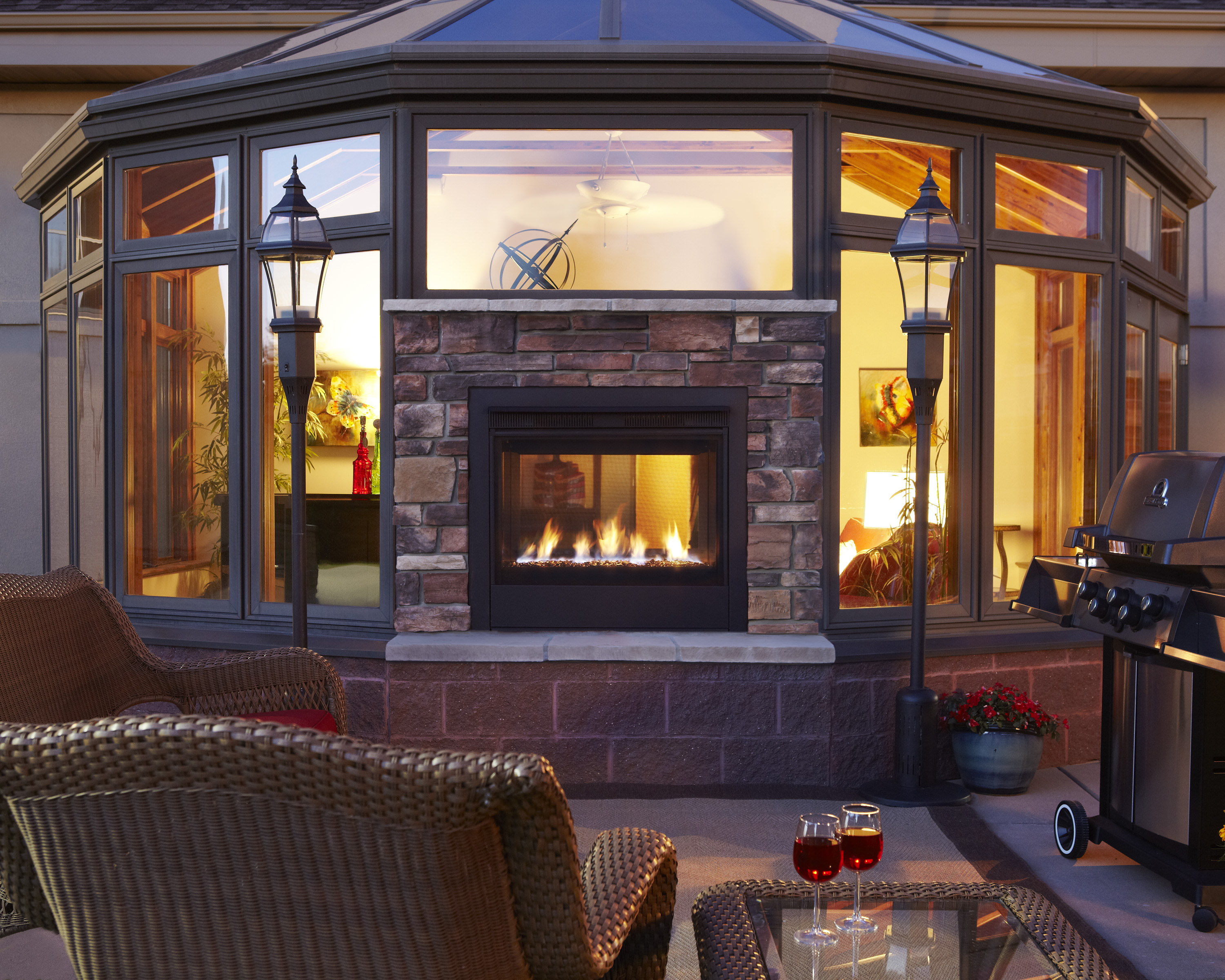 Luxury Inside and Out  Patio  Hearth Blog