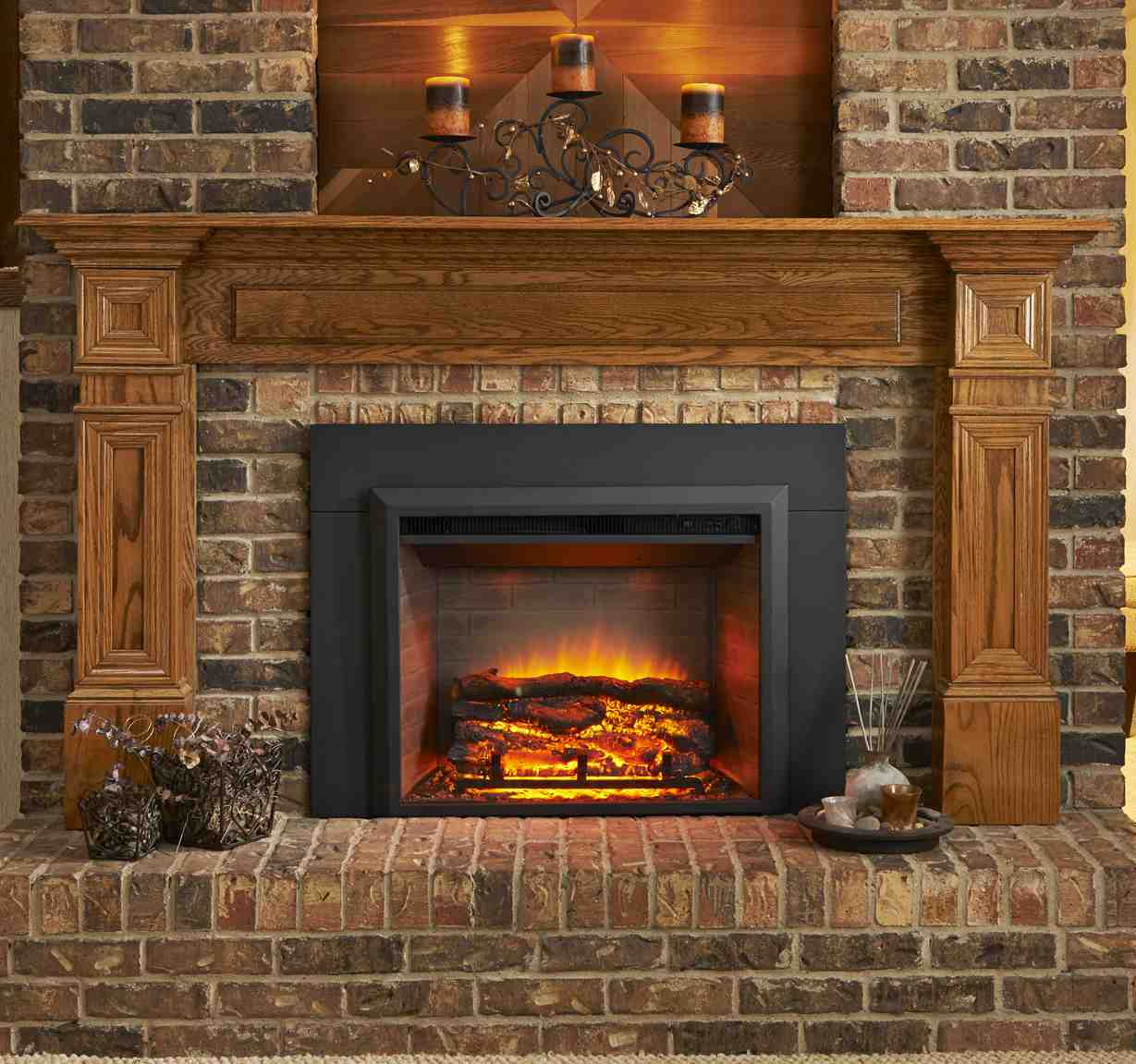 36 Inch Gas Fireplace Inserts Home Depot